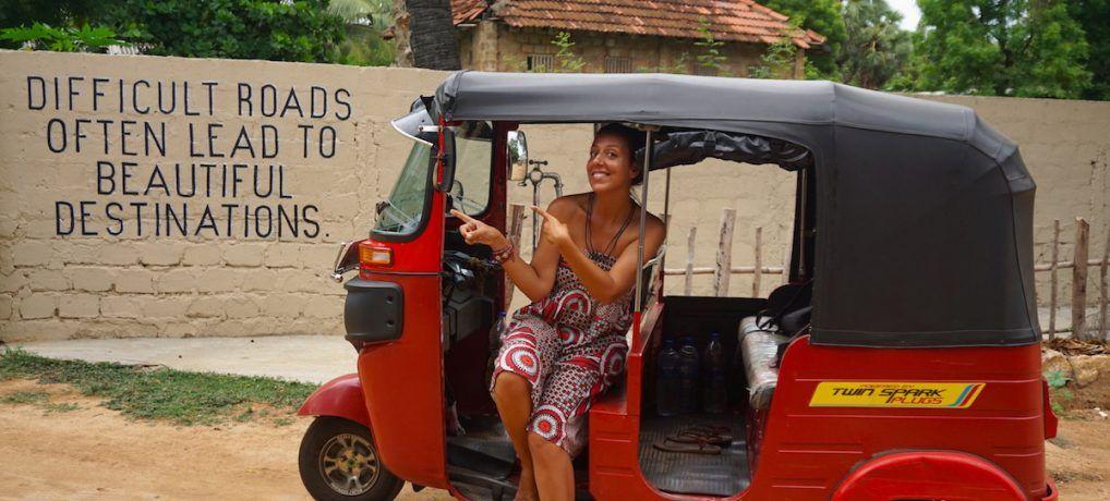 Sri Lanka con tu propio Tuk Tuk: Cómo alquilarlo y conducirlo