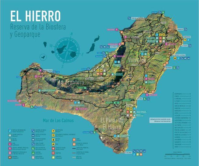 Mapa de El Hierro