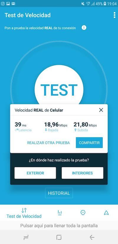 Velocidad de internet con Claro en Cartagena