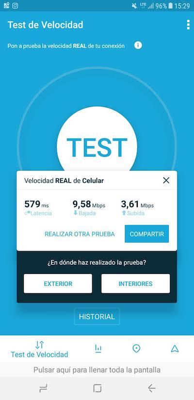 Velocidad de internet con Claro en Santa Marta