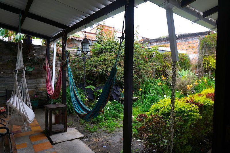 El pátio en Casa Eliana, Salento