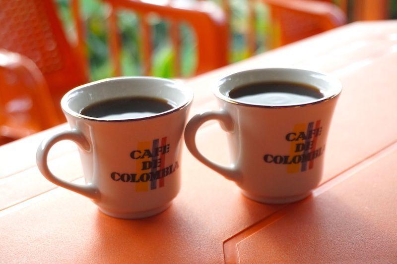 El café que molimos y disfrutamos al final del tour, en la Finca Don Elias