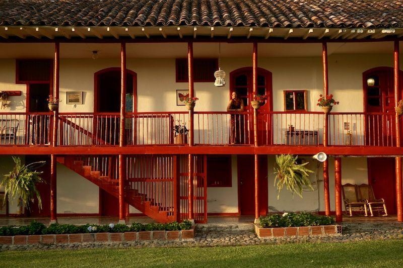 Hacienda Venecia o el alojamiento más fotogénico del viaje :)