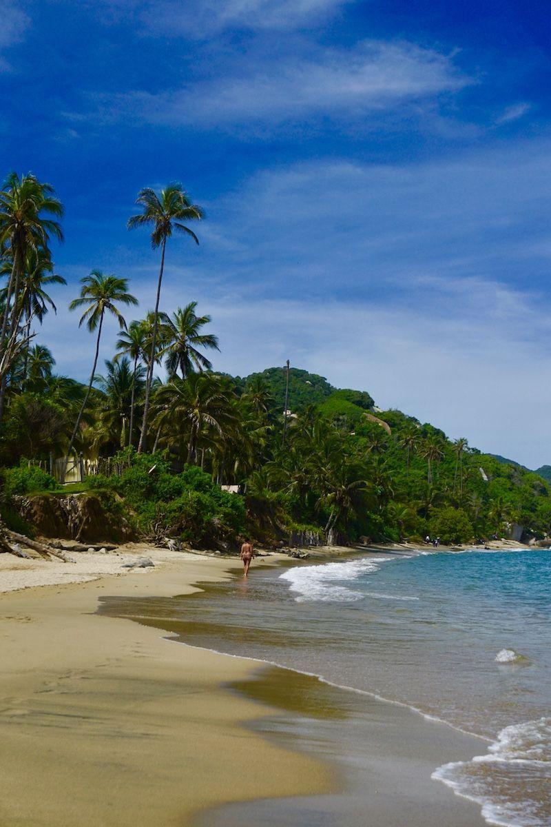 La Piscina, nuestra playa favorita del Tayrona