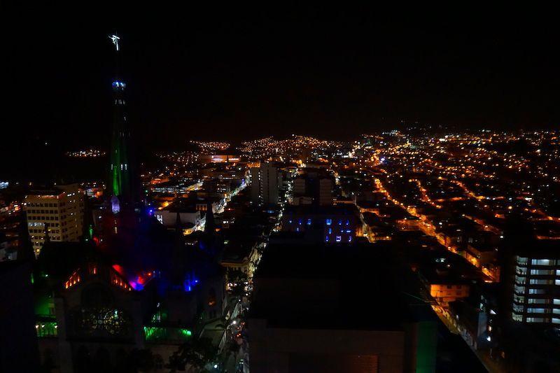Manizales by night, desde el café La terraza