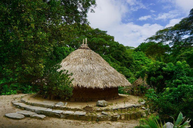 Pueblito, lugar sagrado para los pueblos indígenasque viven en el parque y que aquí conectan con la Pachamama