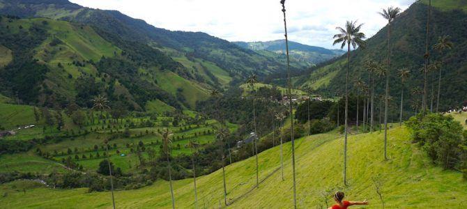 Trekking por el Valle del Cocora: paseando entre palmas de cera en el lugar más famoso del eje cafetero Colombiano