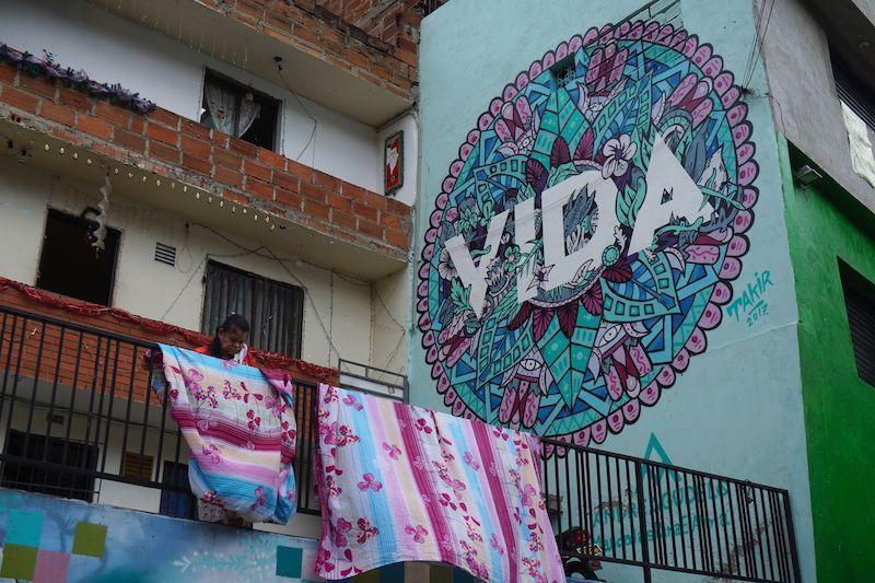 """Vida"" cotidiana en Comuna 13"
