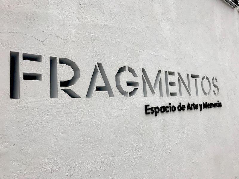 La entrada de Fragmentos