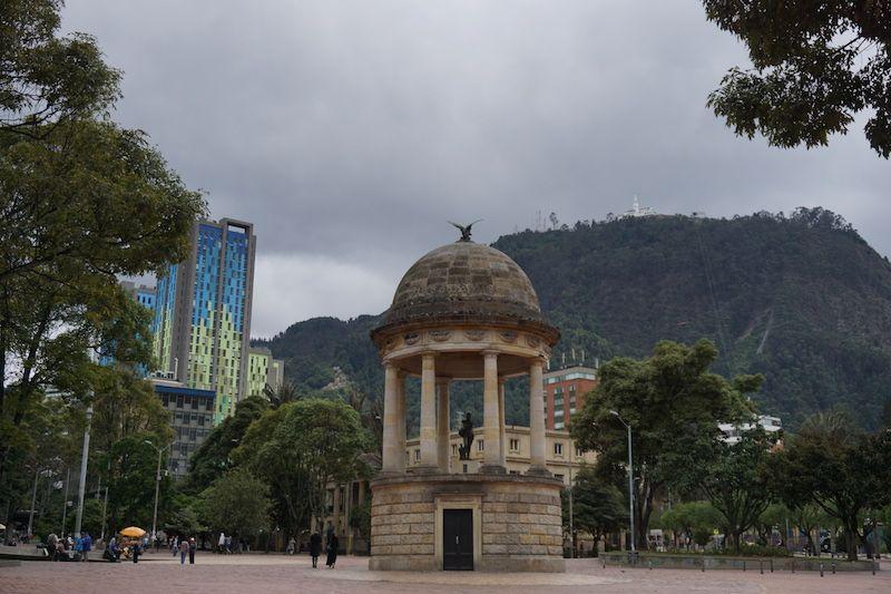 El parque de los periodistas, Bogotá