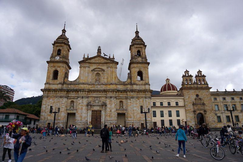 Plaza de Bolívar, la plaza principal de Bogotá