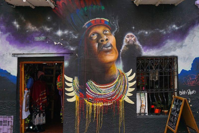 Más street art increíble en las calles de Bogotá