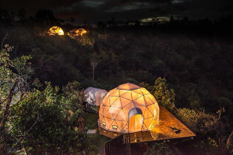 El Bosko, una suite con vistas a las estrellas y a las montañas en Guatapé