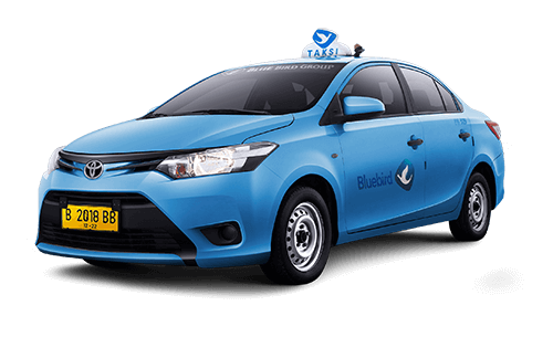 Los taxis oficiales de Blue Bird Group en Bali