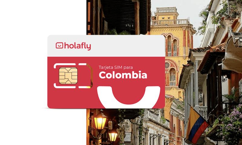 Tarjeta SIM de Holafly para Colombia