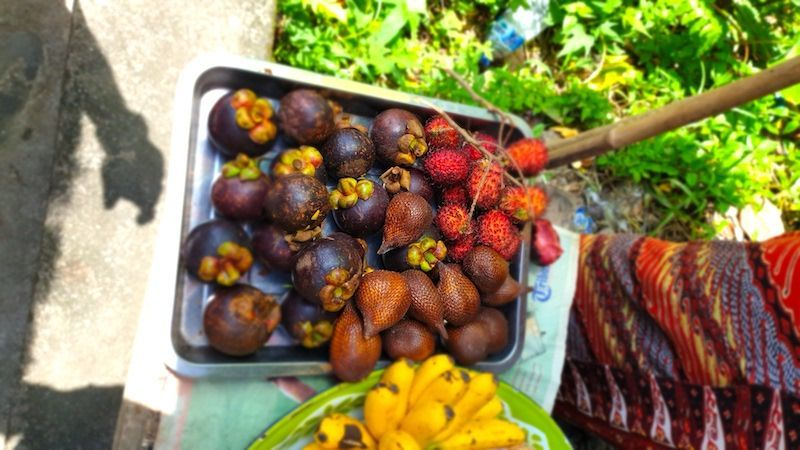 Fruta Balinesa... Ñam Ñam
