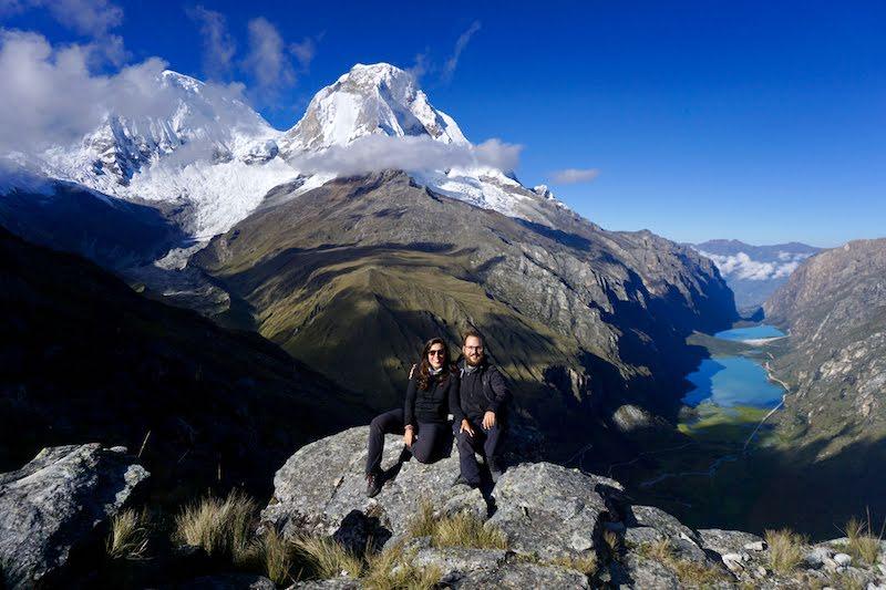 El trekking por el Parque Nacional Huascarán fue el más duro pero también el más bello de nuestras vidas