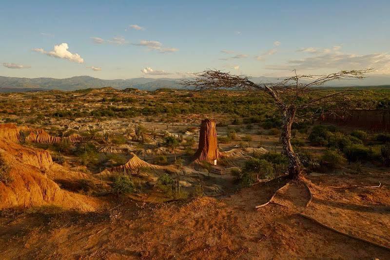 El impresionante desierto de la Tatacoa