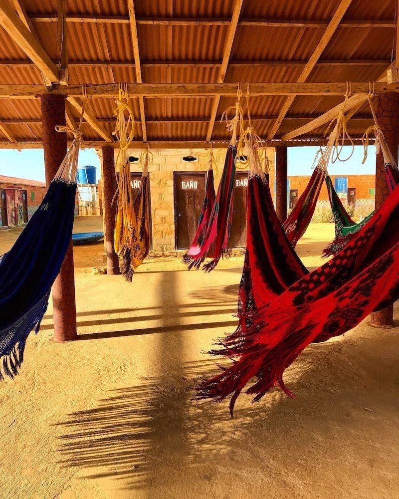 Chinchorros al viente en la Guajira colombiana