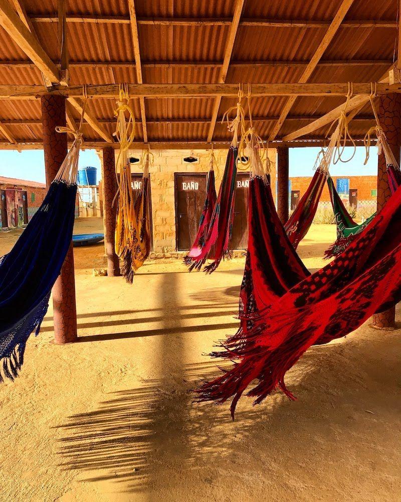 Chinchorros en el desierto, La Guajira colombiana: tierra de contrate