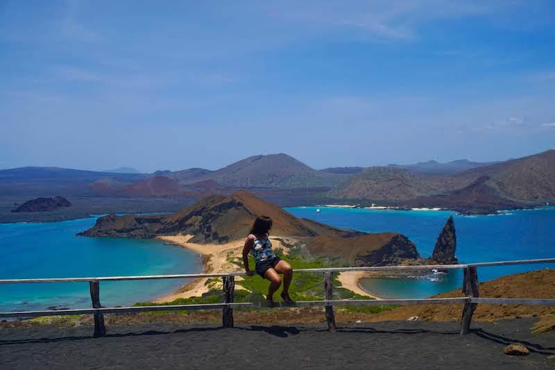 La isla de Bartolomé es la postal de Galápagos pero para nosotrxs es imposible elegir una sola postal del que fue el viaje más increíble de nuestras vidas: los días galapagueños