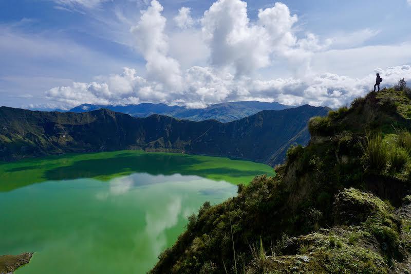 La laguna del Quilotoa, uno de los paisajes más increíbles que hemos visto nunca