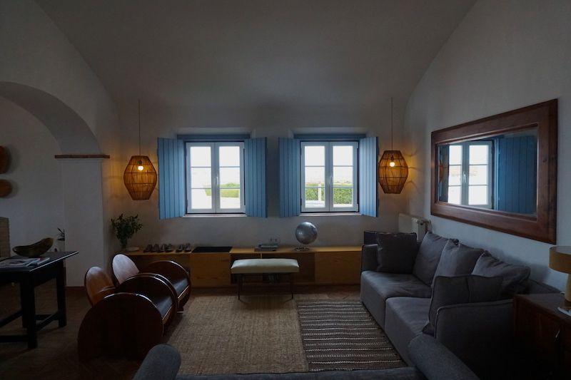 Uno de los salones donde relajarse en Herdade do Touril