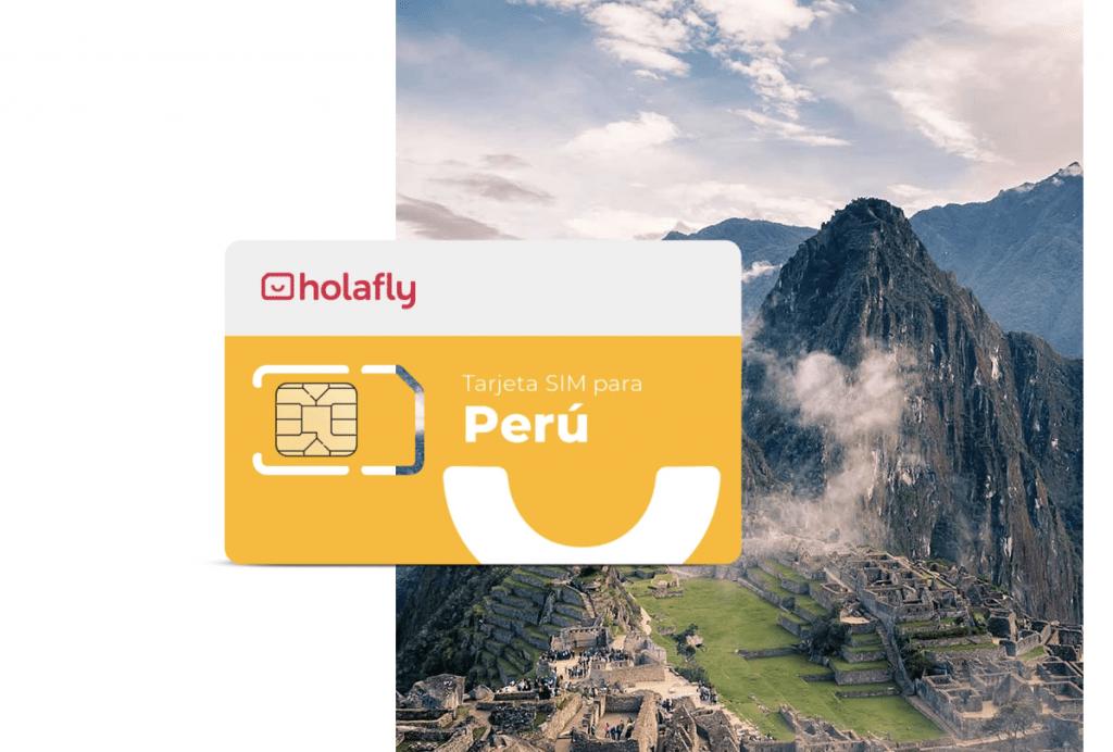 Tarjeta SIM para Perú de Holafly