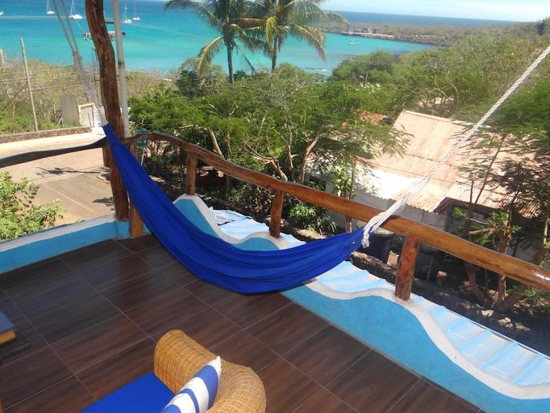 Terraza de la habitación de Casa Playa Mann. Foto de Booking