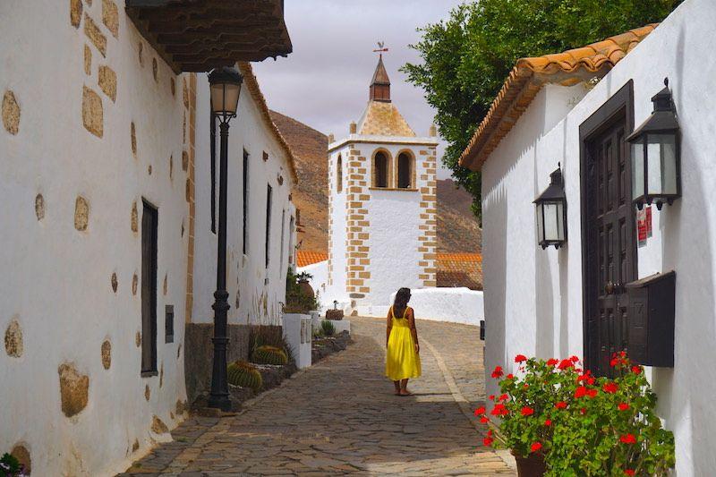 Las bellas calles de Betancuria