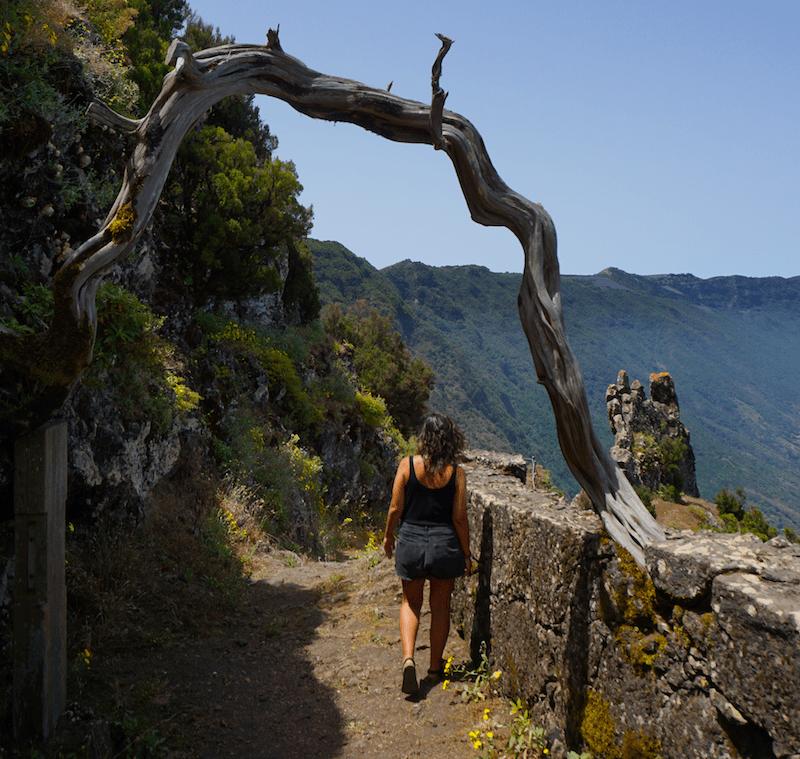 La puerta de entrada a una de las rutas de senderismo más antiguas de la isla: el Camino de Jinama.
