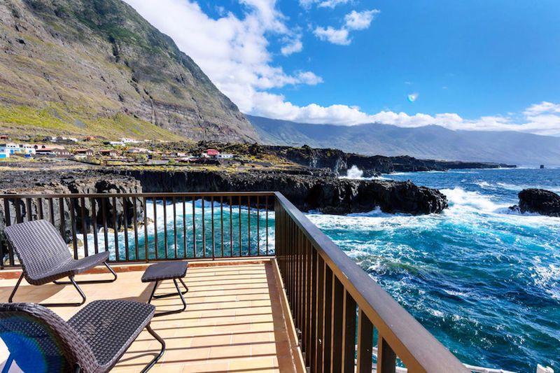 Terraza de la habitación nº2. Foto de Hotel Puntagrande