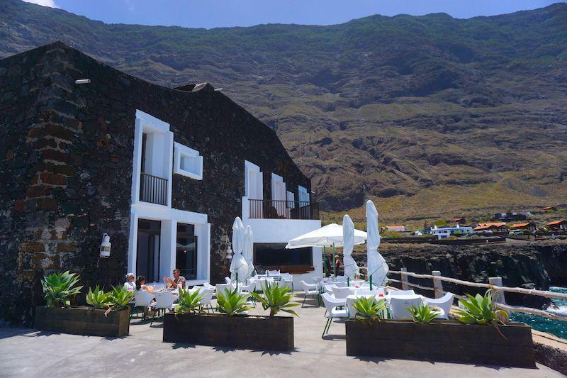 La terraza del restaurante del Hotel Puntagrande