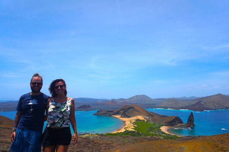 En isla Bartolomé, de las más emblemáticas y que representa todas las islas Galápagos