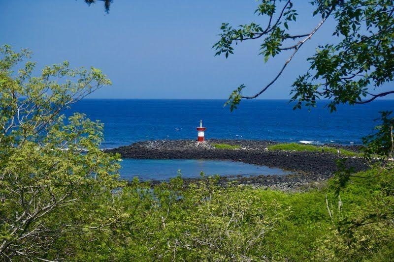 El faro de Punta Carola