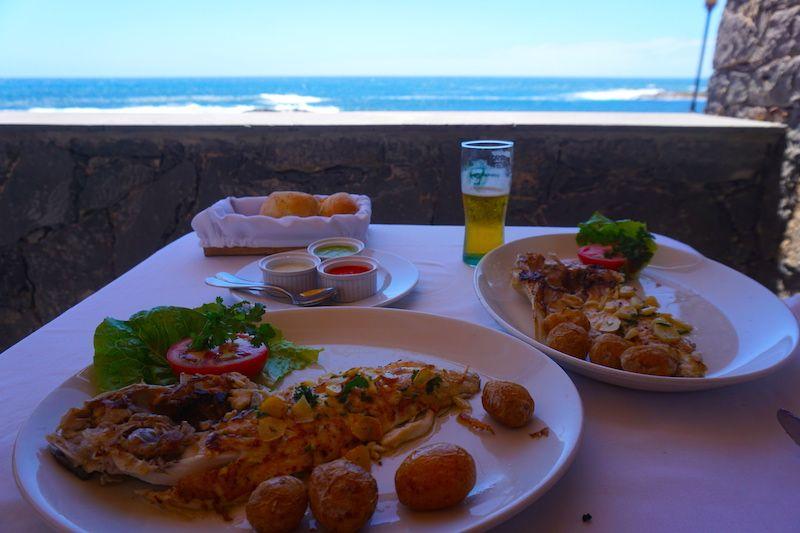 El restaurante que más repetimos en El Cotillo: Las Marismas
