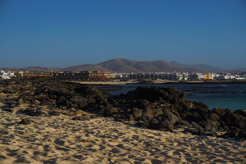 El Cotillo desde playa de la Concha