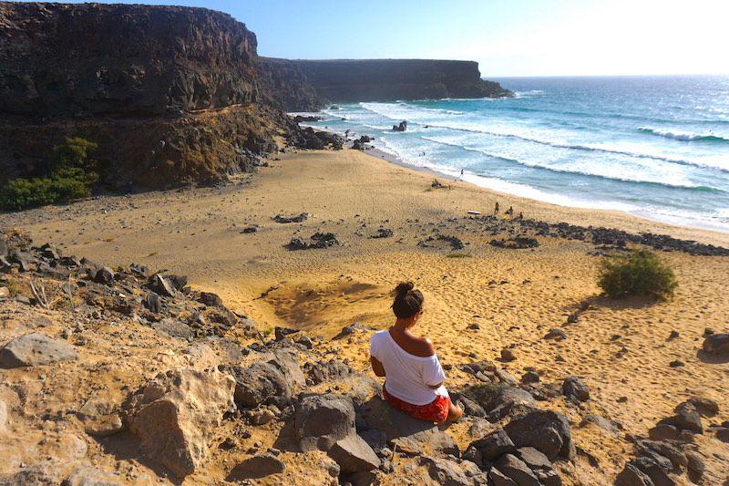 Un trozito de nuestro corazón se quedó en la playa del Esquinzo