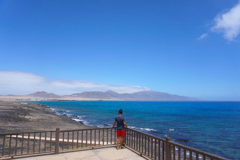 Vistas de Puertito desde el Faro de Punta Jandía