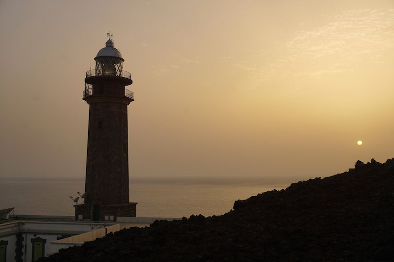 Atardecer en el Faro de Orchilla