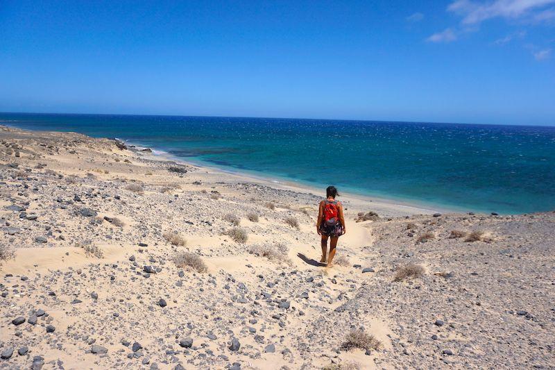 Playas increíbles para disfrutar en soledad (o con muy poquita gente) al sur de Jandía