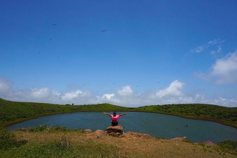 La impresionante Laguna del Junco