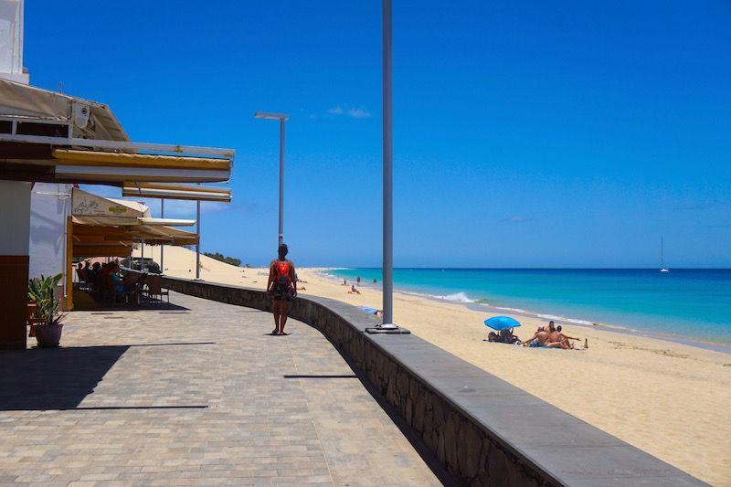 La playa de Morro Jable
