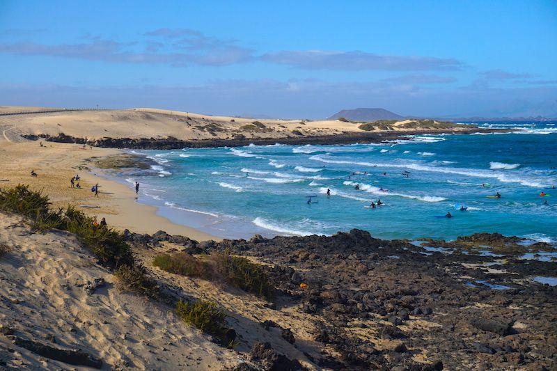Surf en las Grandes Playas de Corralejo