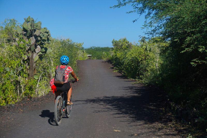 En bicicleta por Isabela