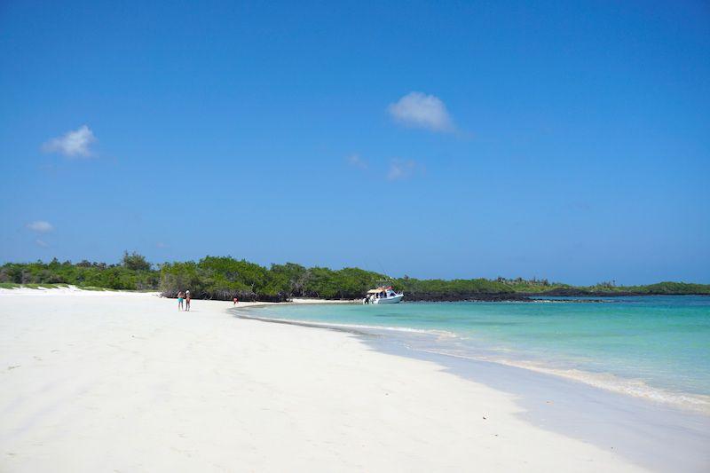 Playa escondida, donde acabamos el tour de Santa Fé