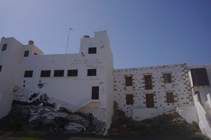 Arte urbano en Puerto del Rosario