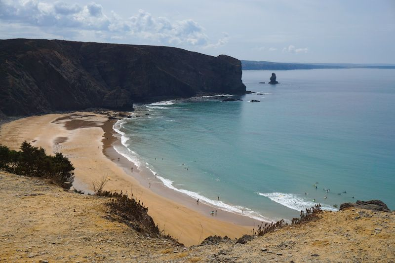 La bella e imponente Praia da Arrifana