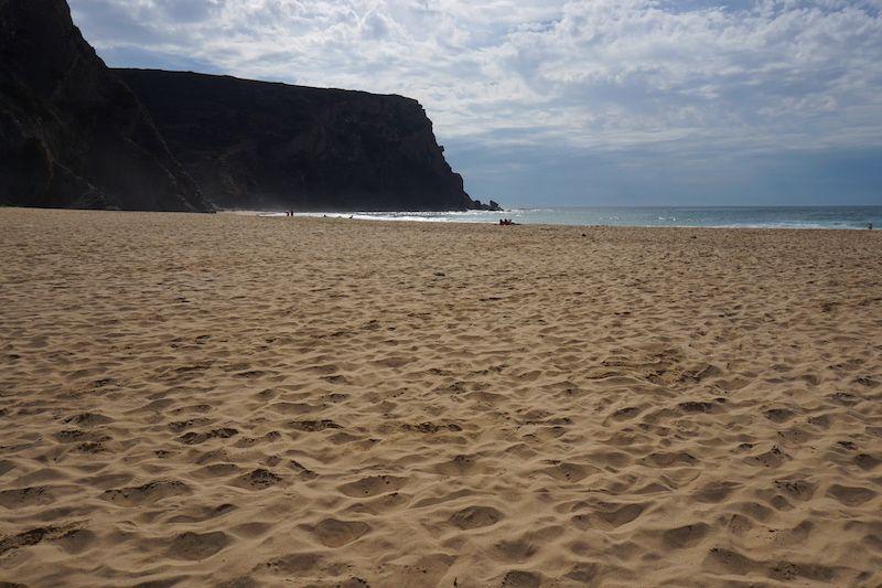 Praia da Murração, conocida como la joya vicentina. Foto Randomtrip