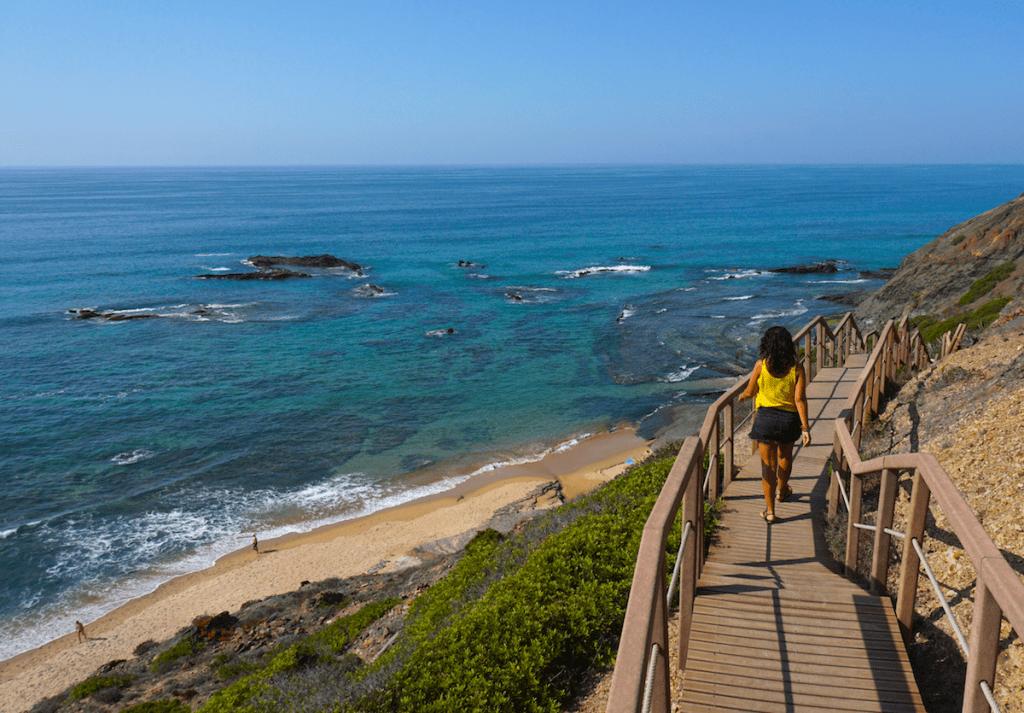 La increíble Praia da Carreagem. Foto Randomtrip